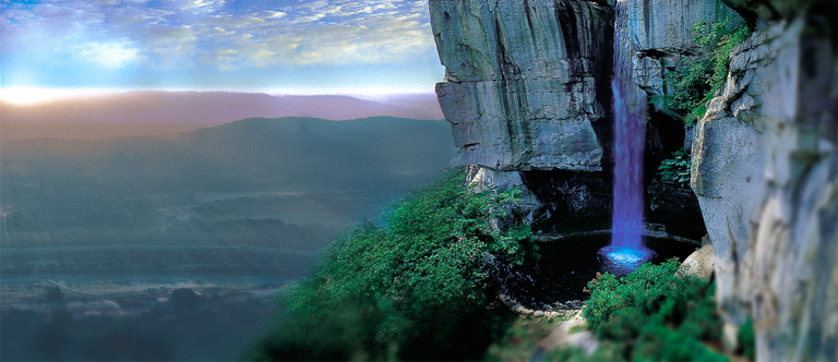 Rock City in Chattanooga, Tennessee