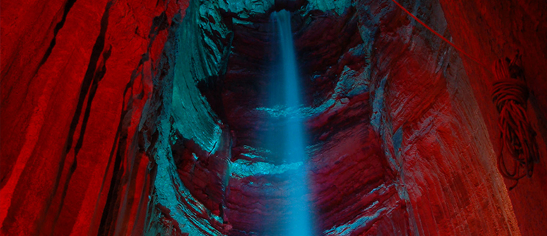 Ruby Falls in Chattanooga, Tennessee