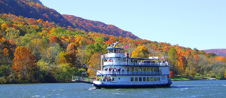 Southern Belle Riverboat in Chattanooga, Tennessee
